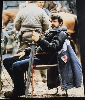 George Lucas Signed 11x14 Photo - Video Proof