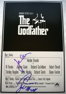 The Godfather Signed 12x18 Photo