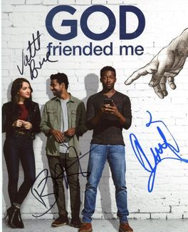 God Friended Me Signed 8x10 Photo