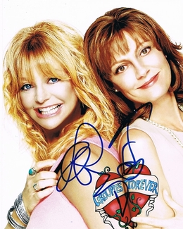 Goldie Hawn & Susan Sarandon Signed 8x10 Photo
