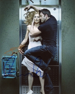 Ben Affleck & Rosamund Pike Signed 8x10 Photo - Video Proof