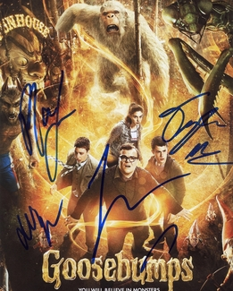 Goosebumps Signed 8x10 Photo - Video Proof