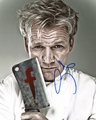 Gordon Ramsay Signed 8x10 Photo - Video Proof