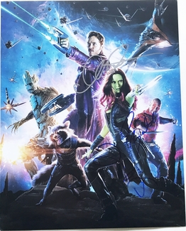 Guardians of the Galaxy Signed 11x14 Photo