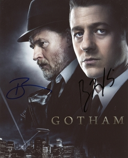 Ben McKenzie & Donal Logue Signed 8x10 Photo - Video Proof