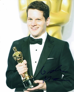 Graham Moore Signed 8x10 Photo