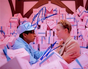 Saoirse Ronan & Tony Revolori Signed 8x10 Photo - Video Proof