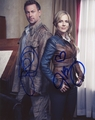 Grant Bowler & Julie Benz Signed 8x10 Photo - Video Proof