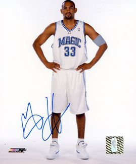 Grant Hill Signed 8x10 Photo