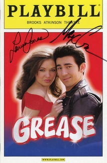 Laura Osnes & Max Crumm Signed Playbill