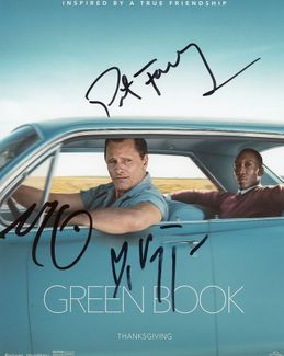 Green Book Signed 8x10 Photo - Video Proof
