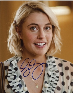 Greta Gerwig Signed 8x10 Photo - Video Proof