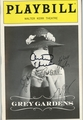 Grey Gardens Signed Playbill