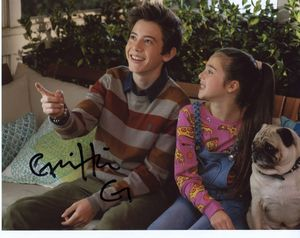 Griffin Gluck Signed 8x10 Photo - Video Proof