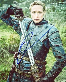 Gwendoline Christie Signed 8x10 Photo