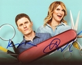 Brooke van Poppelen & Kevin Pereira Signed 8x10 Photo - Vidoe Proof