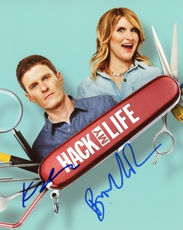 Brooke van Poppelen & Kevin Pereira Signed 8x10 Photo - Video Proof