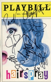 Hairspray Signed Playbill