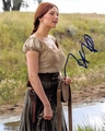 Haley Bennett Signed 8x10 Photo