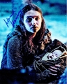 Hannah Murray Signed 8x10 Photo