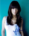 Hannah Simone Signed 8x10 Photo