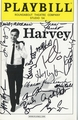 Harvey Signed Playbill