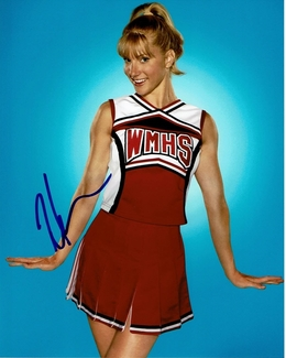 Heather Morris Signed 8x10 Photo - Video Proof
