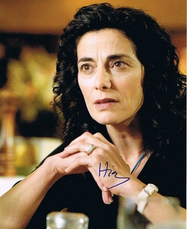 Hiam Abbass Signed 8x10 Photo - Video Proof