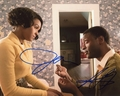 Janelle Monae & Aldis Hodge Signed 8x10 Photo