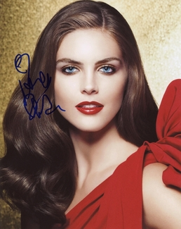 Hilary Rhoda Signed 8x10 Photo