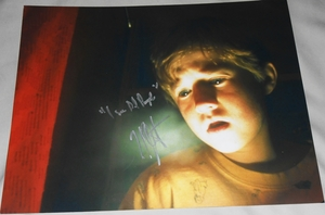 Haley Joel Osment Signed 11x14 Photo - Video Proof