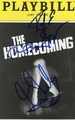 The Homecoming Signed Playbill