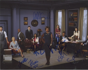 How to Get Away with Murder Signed 8x10 Photo - Video Proof