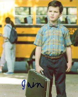Iain Armitage Signed 8x10 Photo - Video Proof