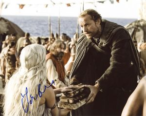 Iain Glen Signed 8x10 Photo