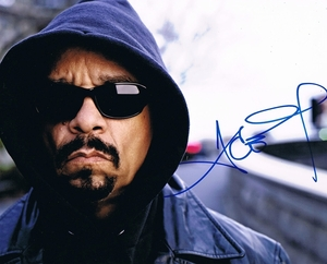 Ice T Signed 8x10 Photo