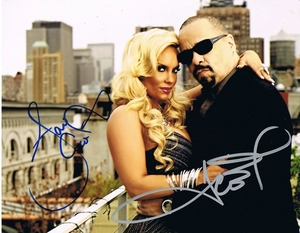 Ice T & Coco Signed 8x10 Photo