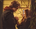 Chloe Moretz & Jamie Blackley Signed 8x10 Photo