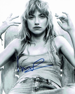 Imogen Poots Signed 8x10 Photo
