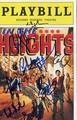 In the Heights Signed Playbill