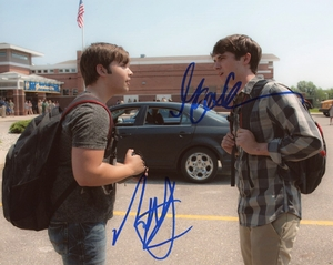 Nathan Kress & Max Deacon Signed 8x10 Photo
