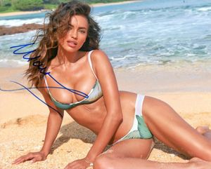 Irina Shayk Signed 8x10 Photo