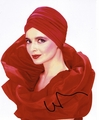 Isabella Rossellini Signed 8x10 Photo