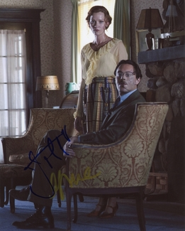 Jack Huston & Gretchen Mol Signed 8x10 Photo