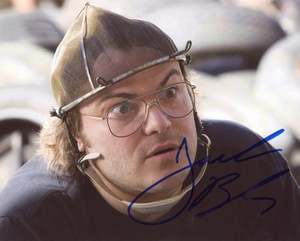 Jack Black Signed 8x10 Photo
