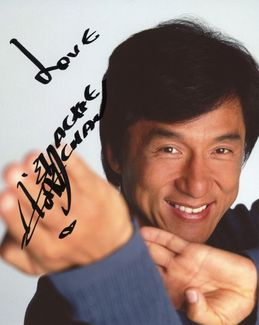 Jackie Chan Signed 8x10 Photo - Video Proof