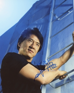 Jackie Chan Signed 8x10 Photo