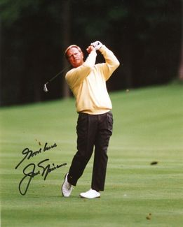 Jack Nicklaus Signed 8x10 Photo