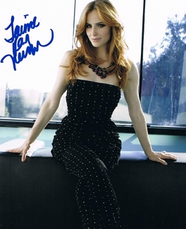 Jaime Ray Newman Signed 8x10 Photo - Video Proof