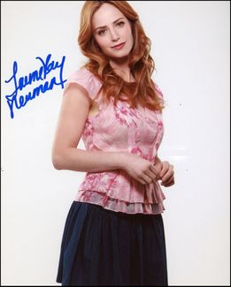 Jaime Ray Newman Signed 8x10 Photo